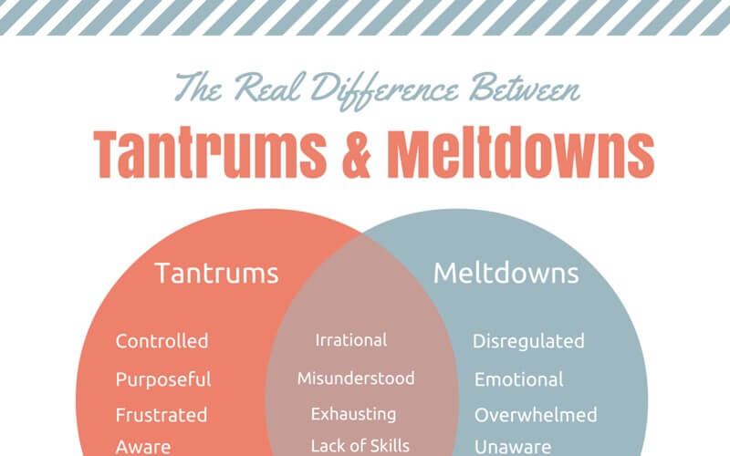 Tantrums and Meltdowns Chart