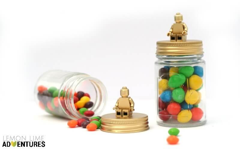 Lego Candy Jars
