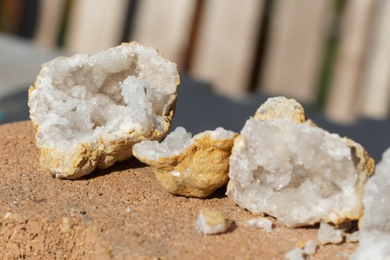 Geodes and Excavations