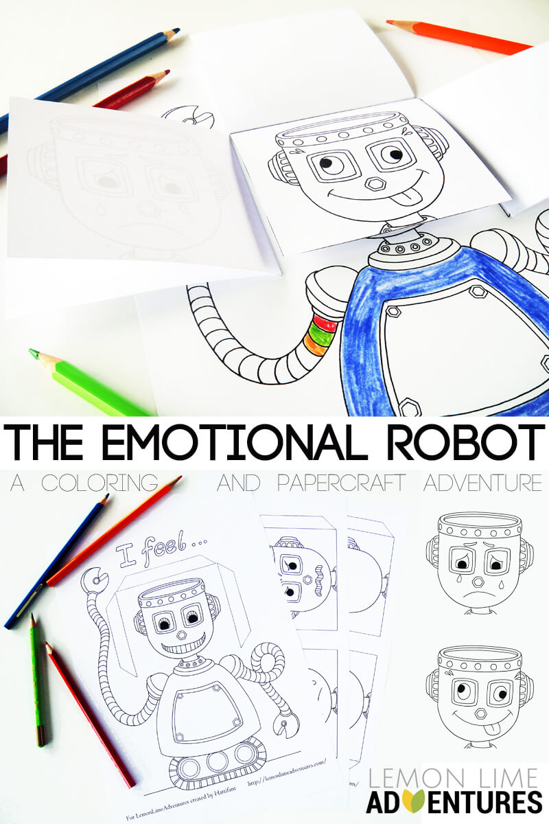 The Emotional Robot | Simple Emotional Intelligence Activity for Kids