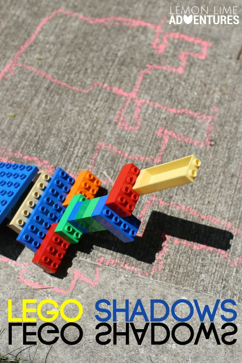 Lego Shadow Towers Simple Summer Science