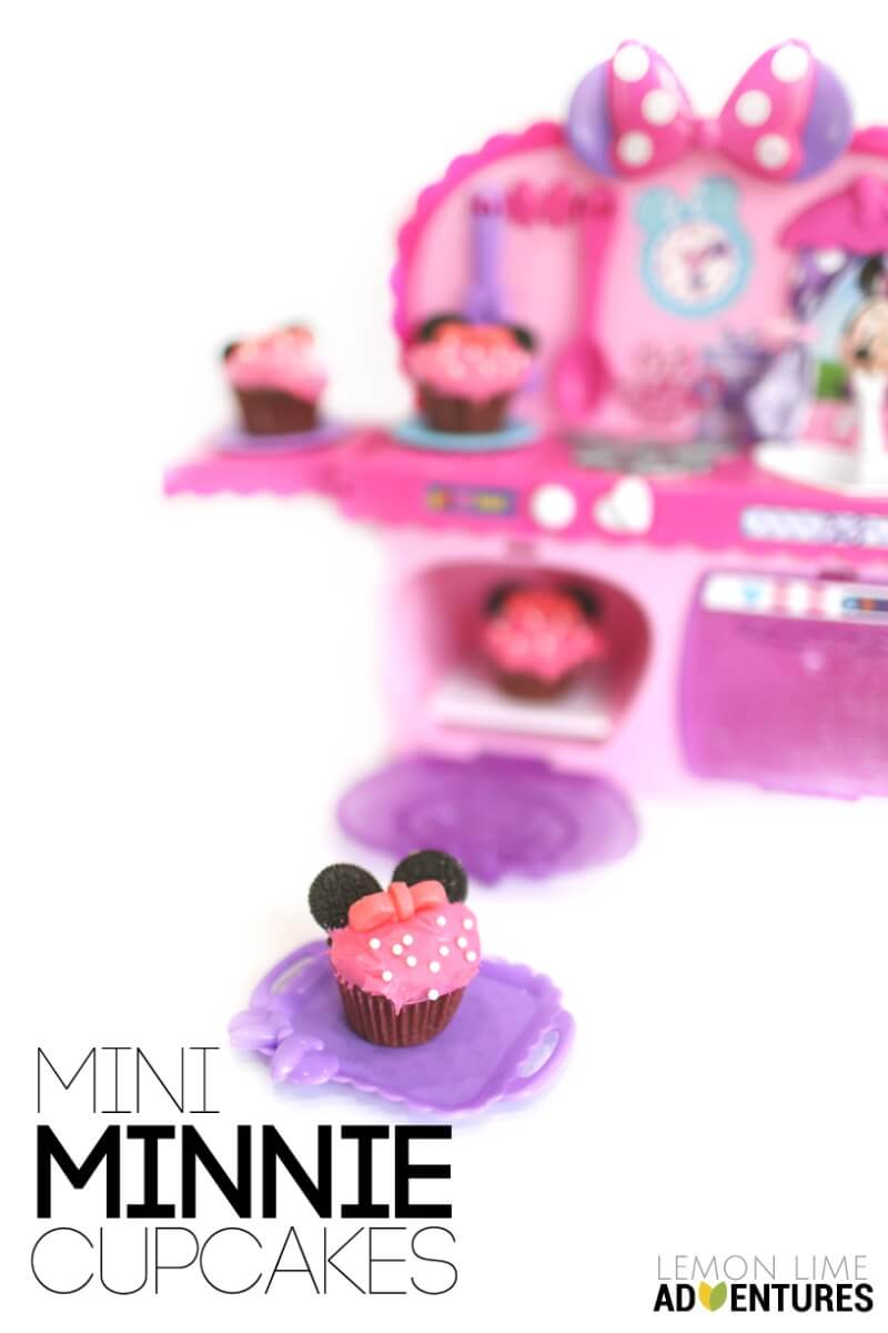 Mini Minnie Cupcakes