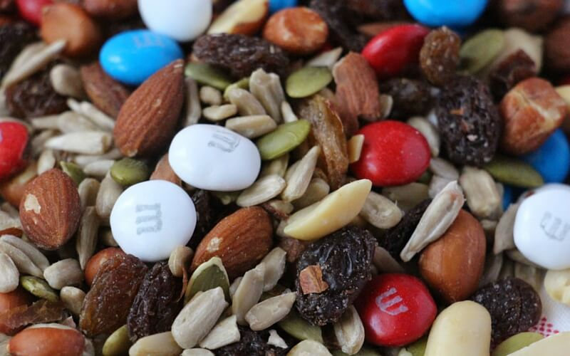 Super Simple 4th of July Trail Mix