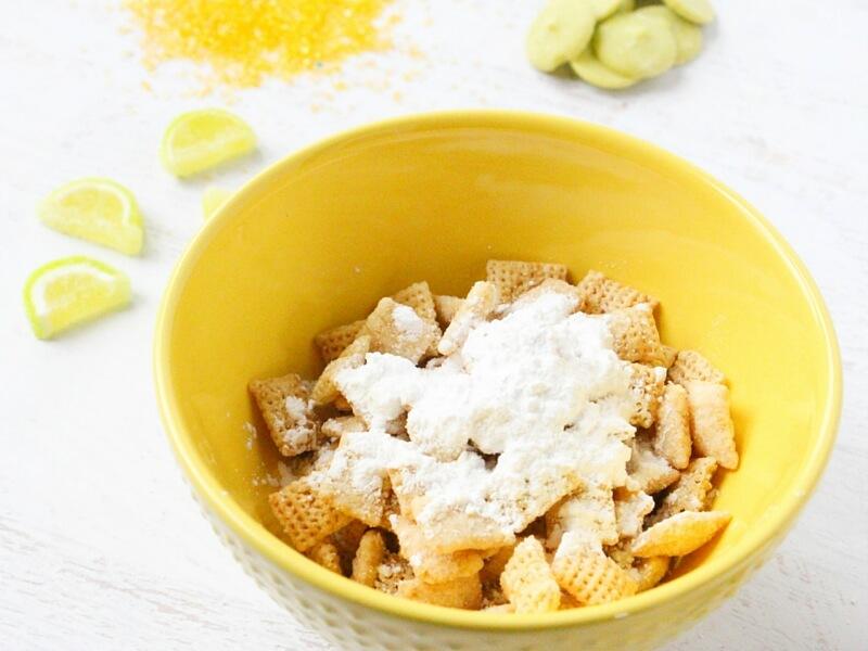 how to make lemon lime trail mix (1)