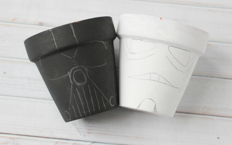 how to make star wars garden pots (1)