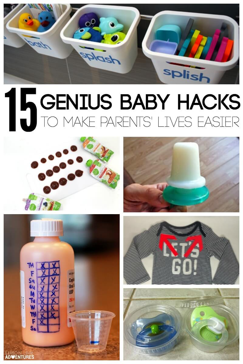 15 Genius Baby Hacks to Make Parents Lives Easier