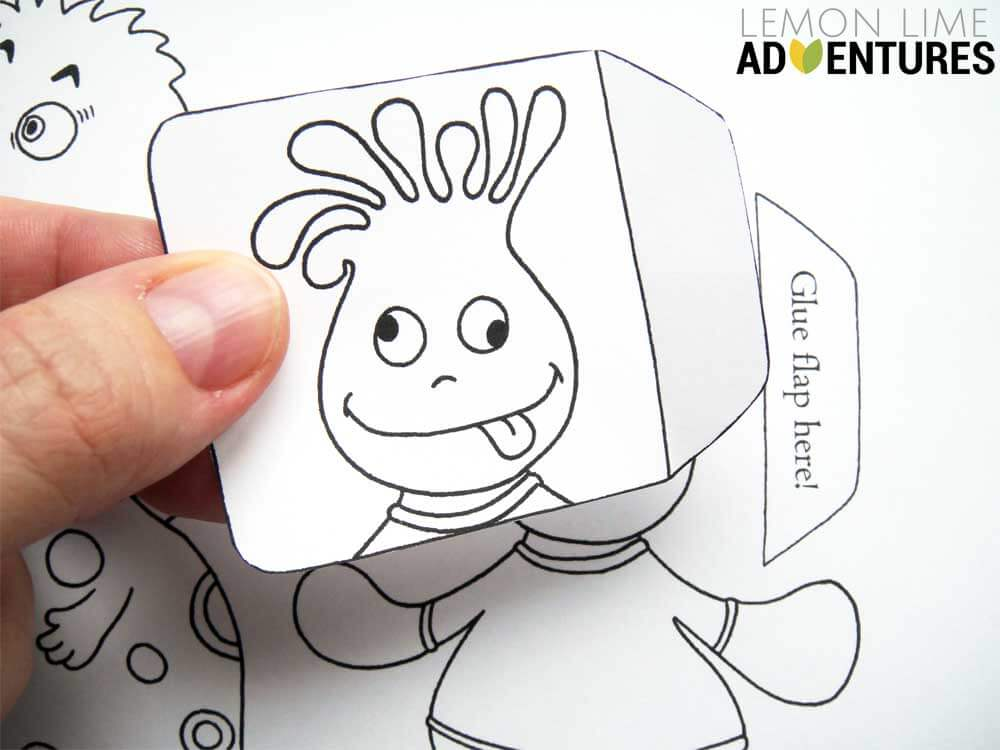Monstrous Emotions Printable Simple Emotions Activity For Kids