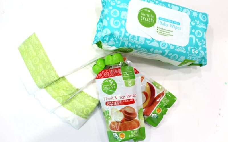 Baby Wipes and Diapers