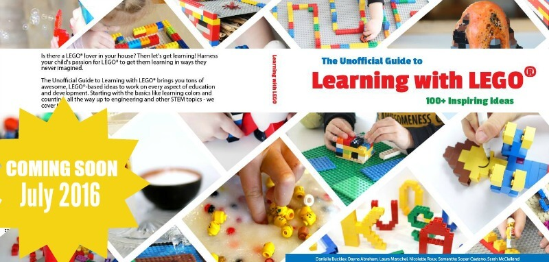 Coming Soon Launch Learning with Lego Book
