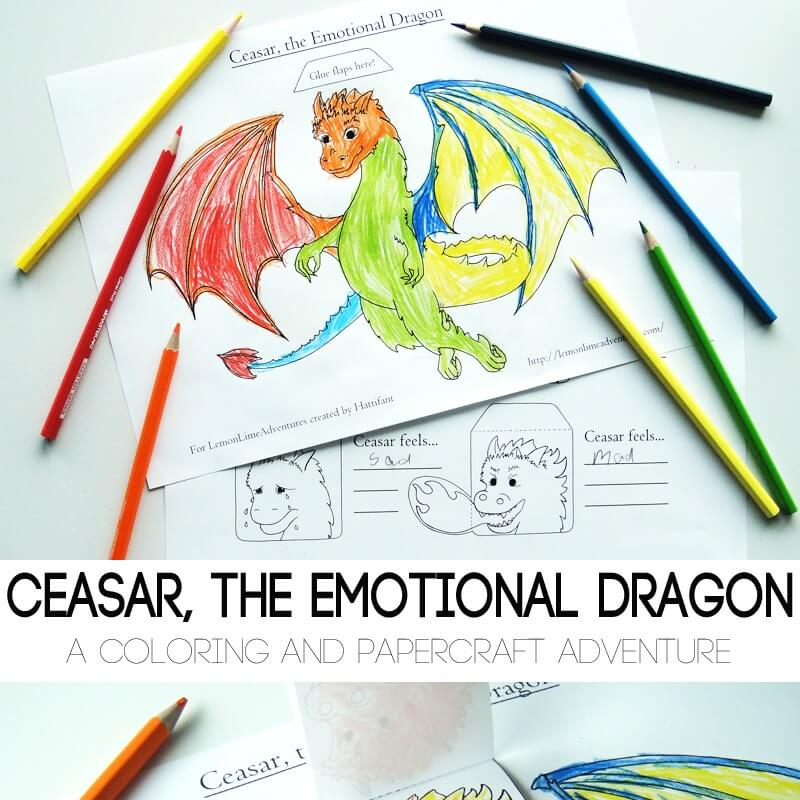 Simple Emotions Printable for Kids