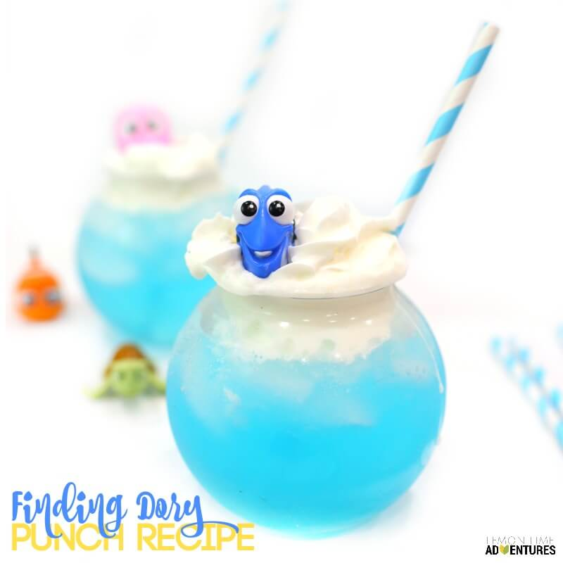 Finding Dory Punch Recipe for Kids