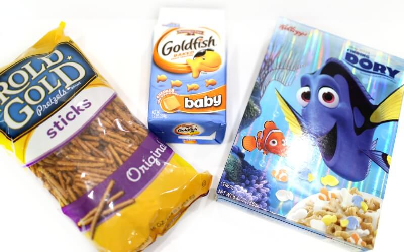 Finding Dory Trail Mix Ingredients