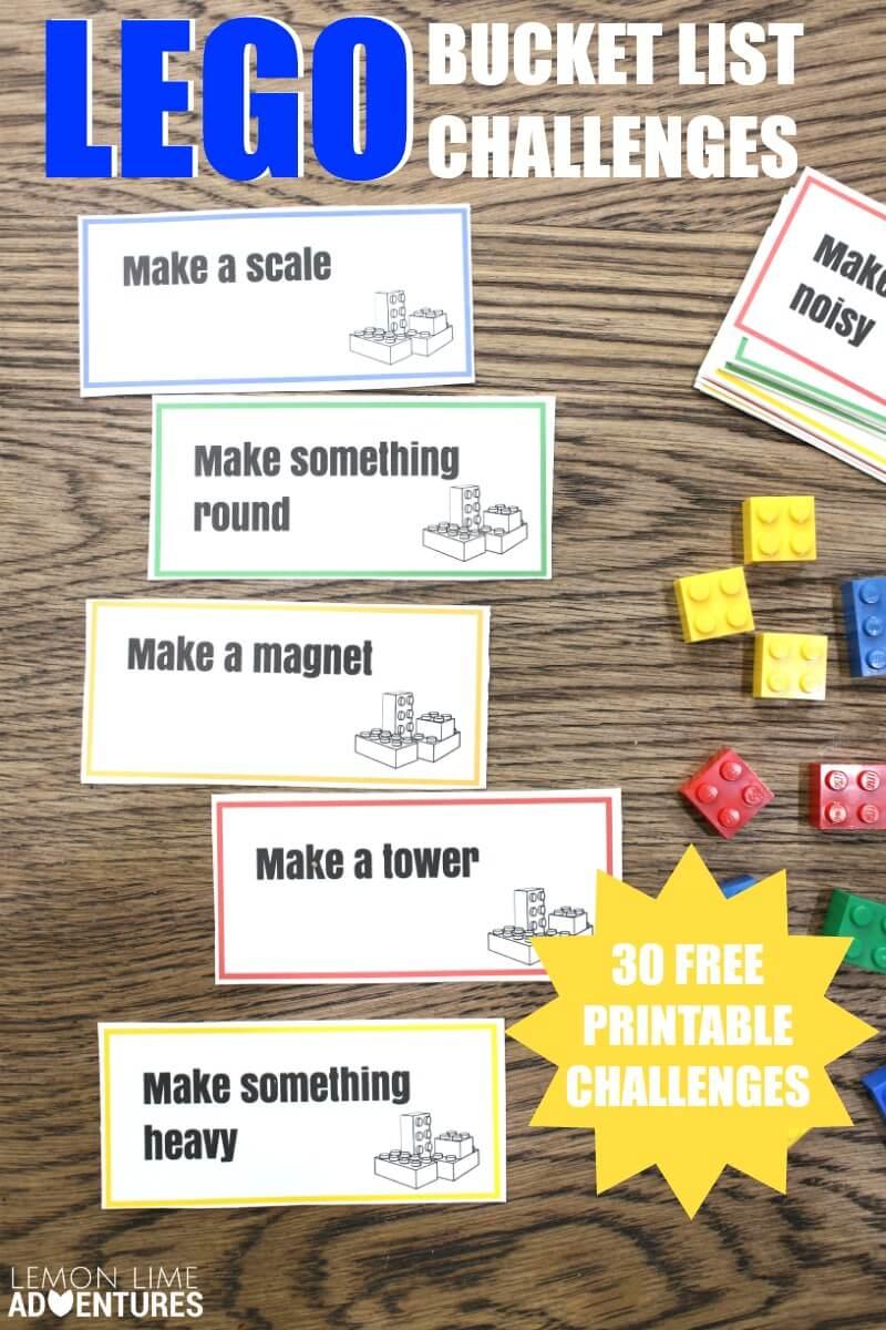 Lego Bucket List Challenges