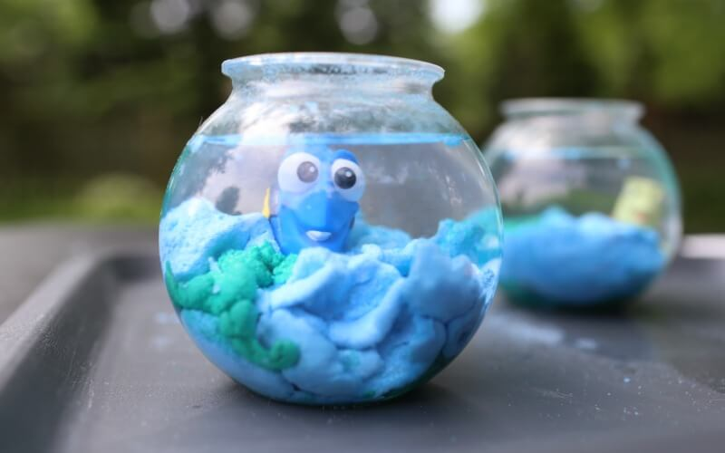 Finding Dory Magic Sand Craft