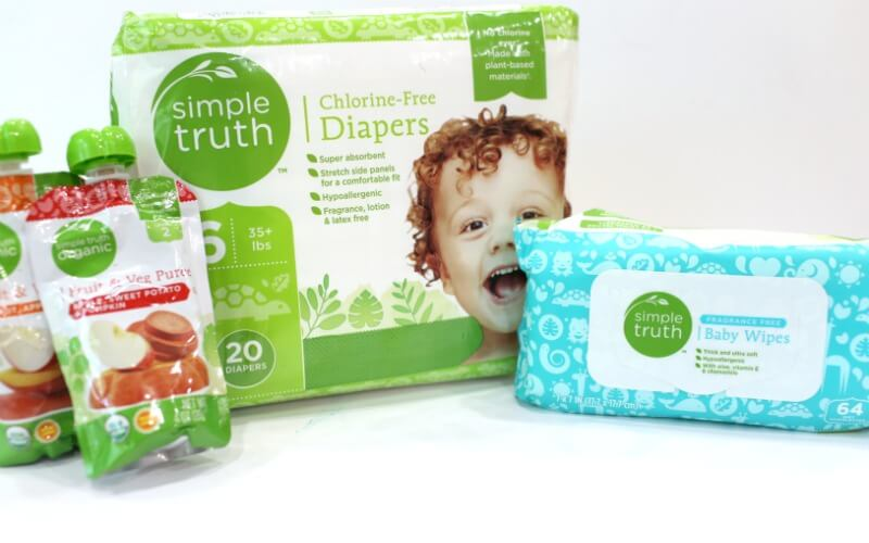 Simple Truth Diapers and Wipes