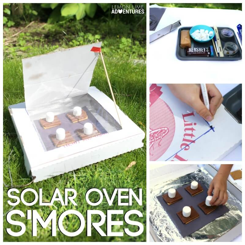 Solar Oven Smores Instructions