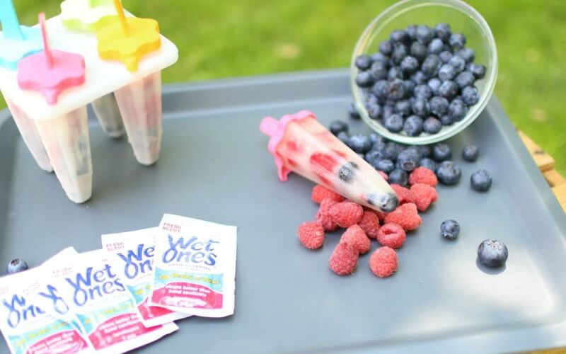 Super Simple Summer Fruit Pops