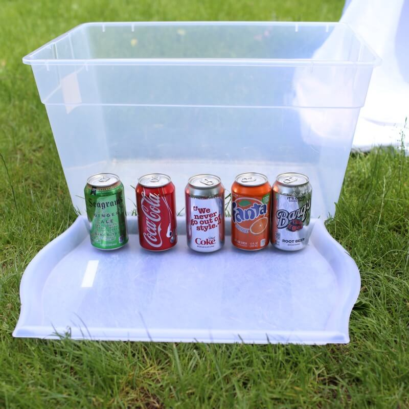 Summer Science Experiments | Sinking Soda Surprise