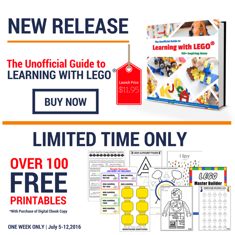 the unofficial guide to learning with lego 100 inspiring ideas