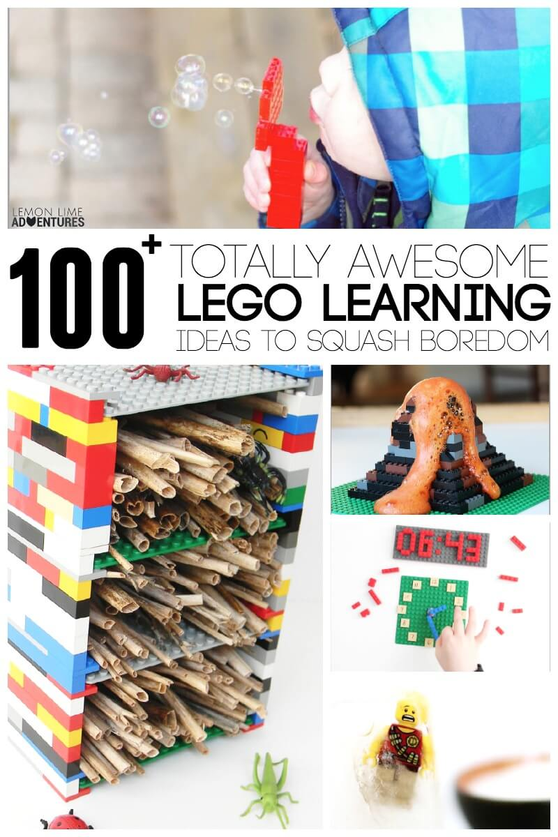 100 Totally Awesome Lego Learning Ideas to Squash Boredom