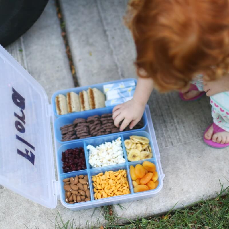 Road Trip Snacks for Long Car Rides with Toddlers