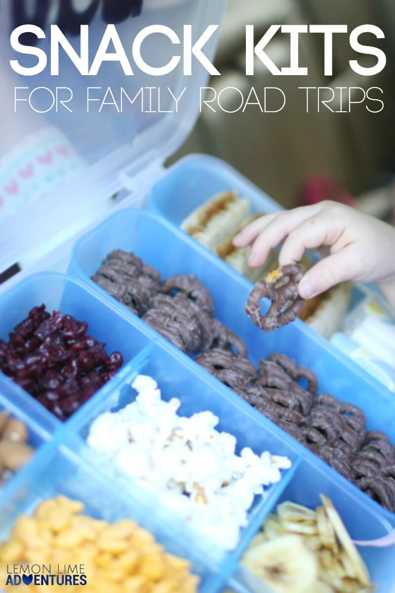 Snack Hack for Road Trips with Kids