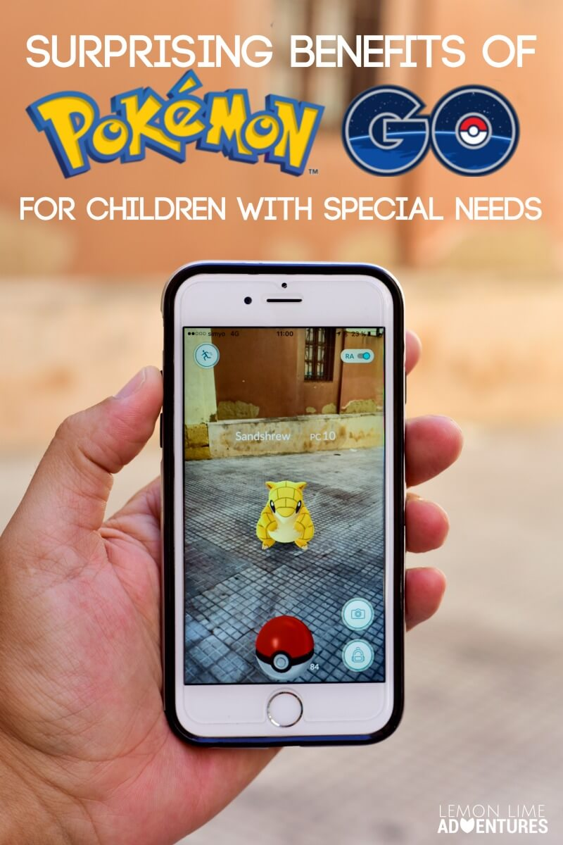 Surprising Benefits of Pokemon Go for Children with Special Needs