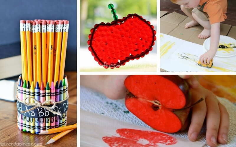 12 Totally Awesome Back to School Crafts