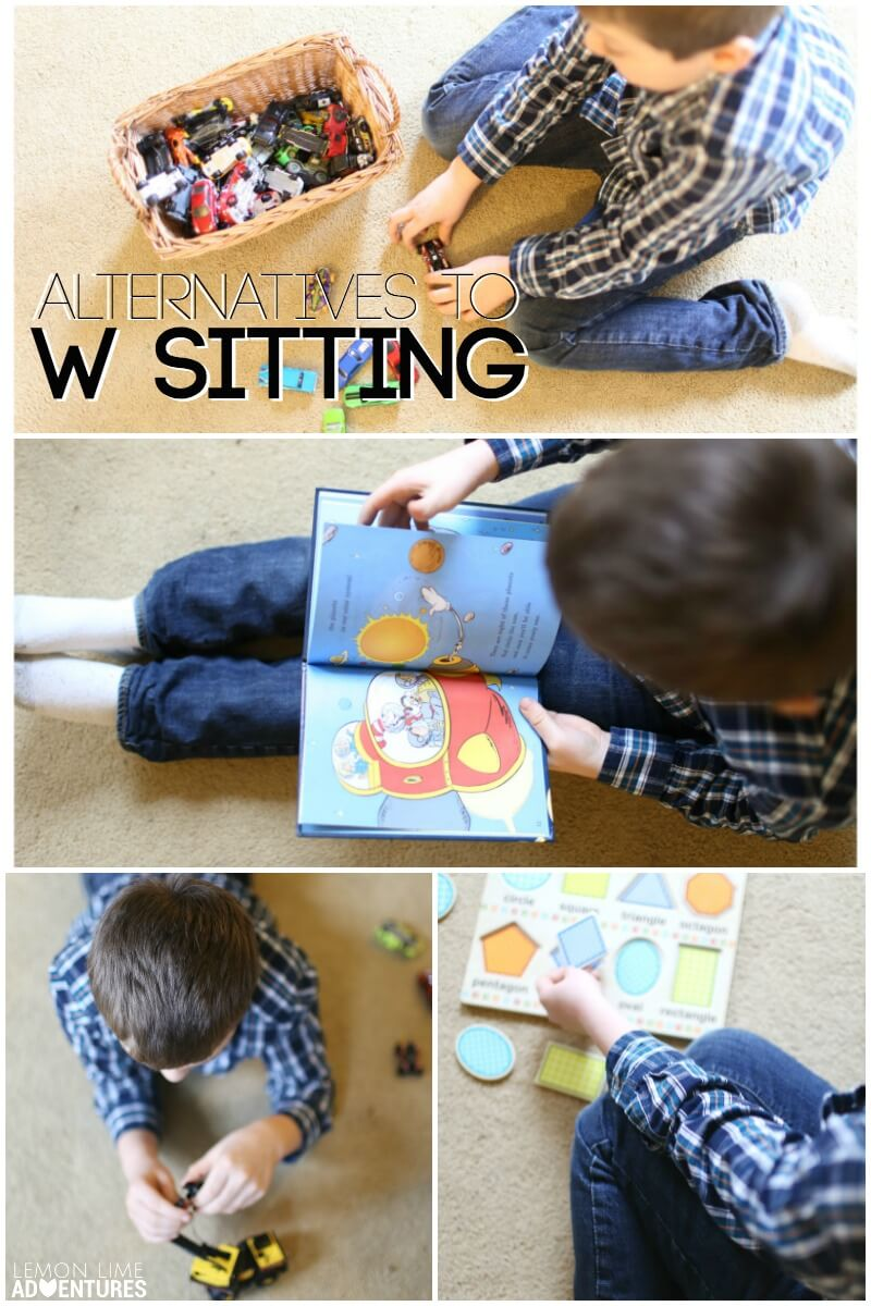 Alternatives to W Sitting