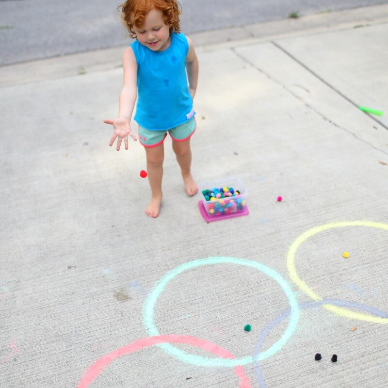 Toddler Olympic Themed Games