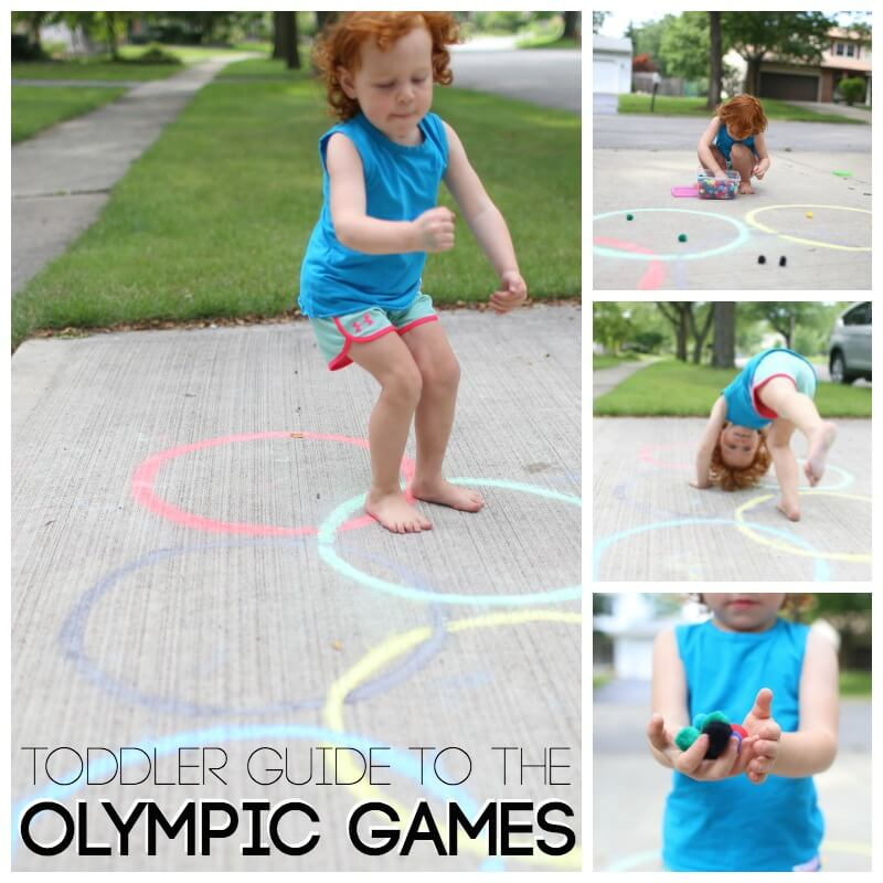 Super Simple Guide to the Olympic Games for Toddlers