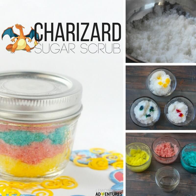 charizard sugar scrub