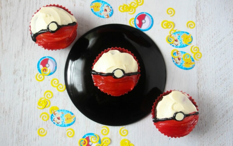 Totally Awesome Kid-Made Pokemon Cupcakes