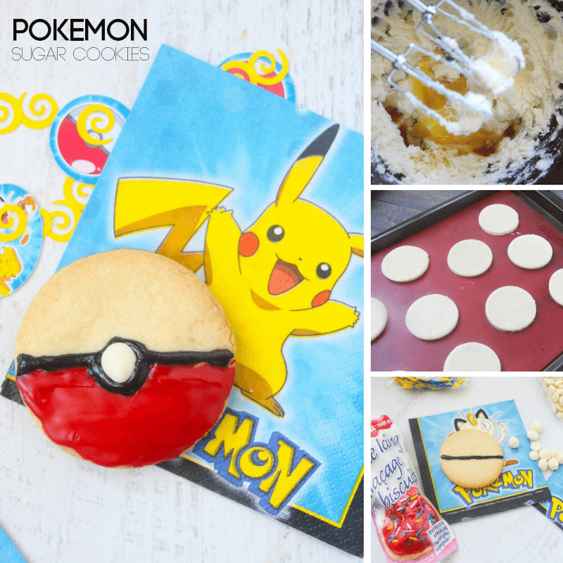 Simple Pokemon Sugar Cookie Recipe