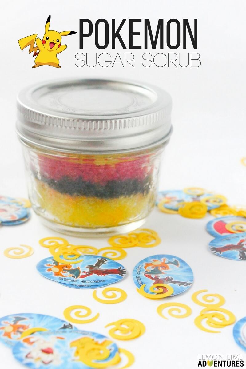 pokemon sugar scrub