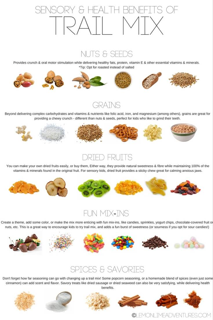 trail mix benefits