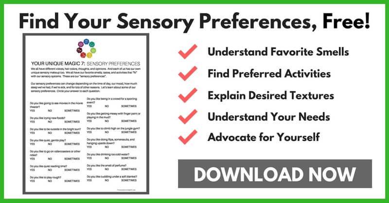 Help Your Child Find Sensory Preferences