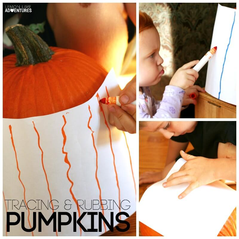 Pumpkin Tracing and Rubbings