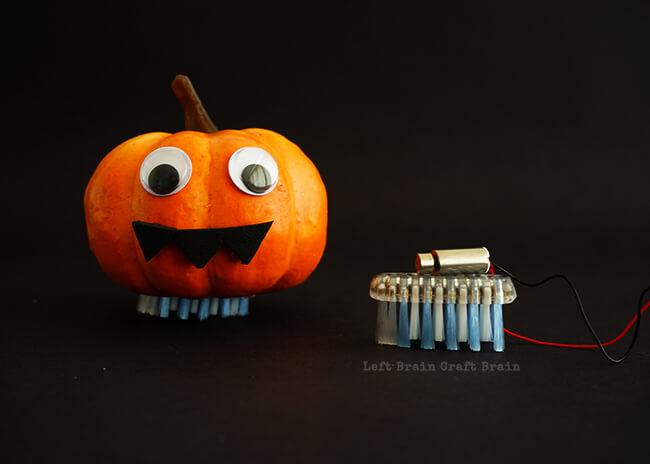 Halloween Brush Bot