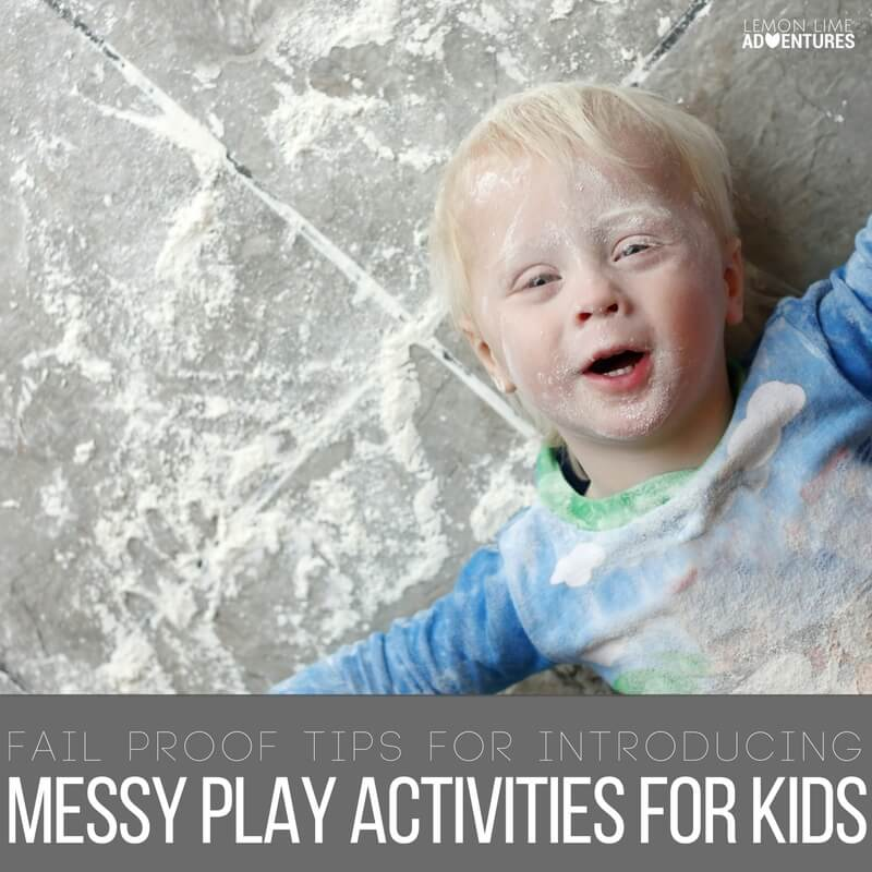 Introducing Messy Play Activities for Kids