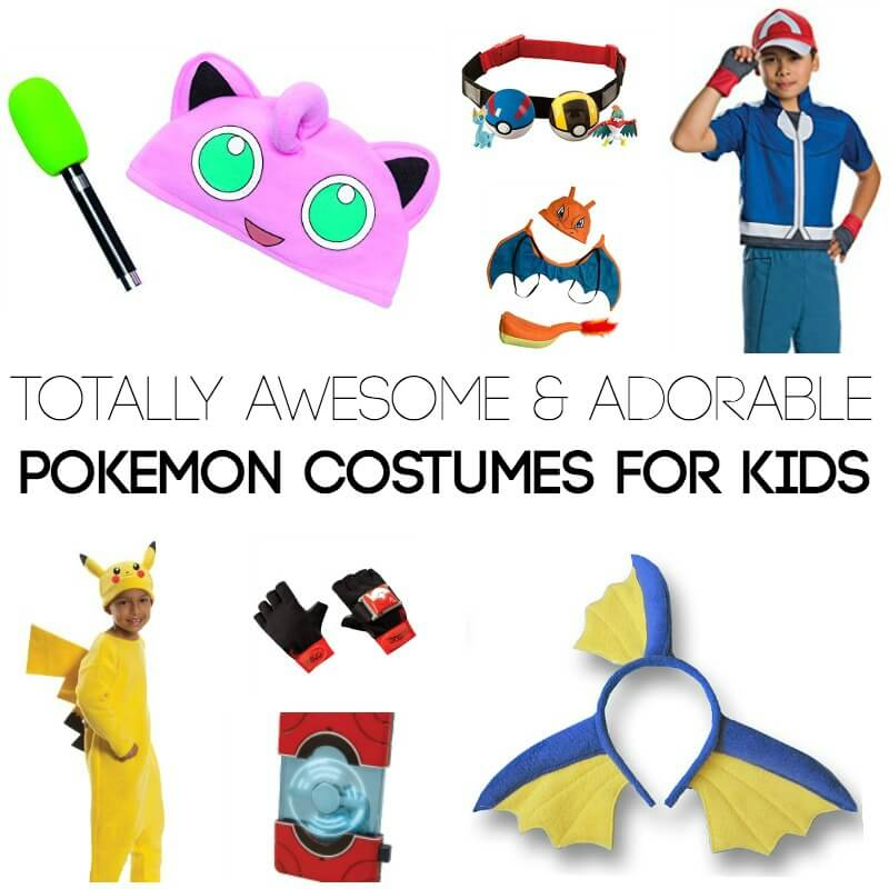 Pokemon Costumes for Kids