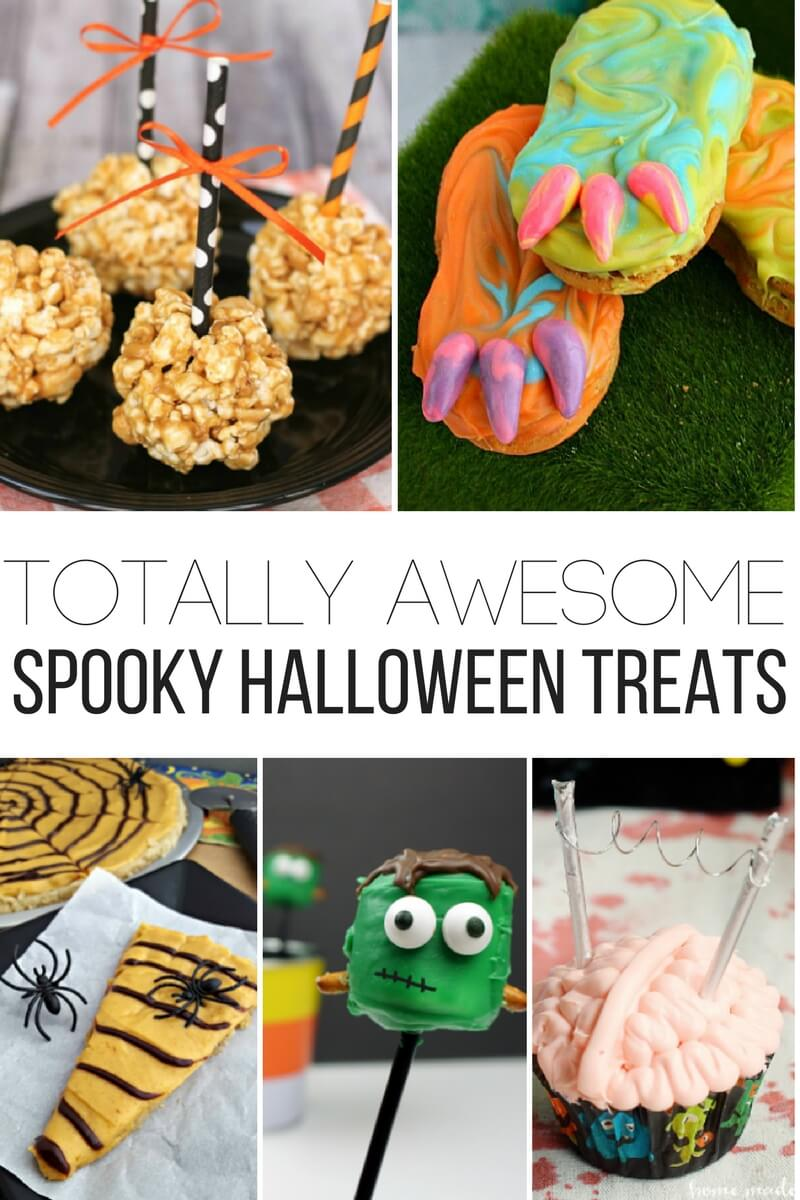 Totally awesome spooky Halloween treats for kids!