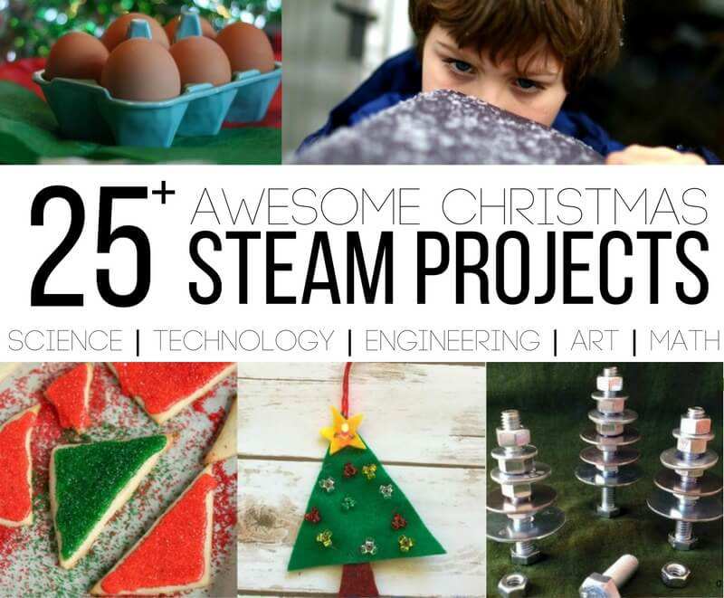 25 Awesome STEAM Christmas Projects for Kids
