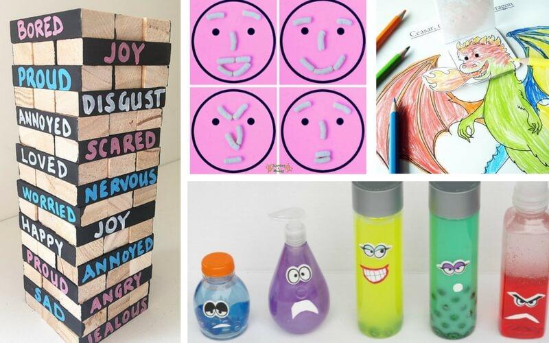 Super Fun Activities to Help Kids Recognize Big Emotions
