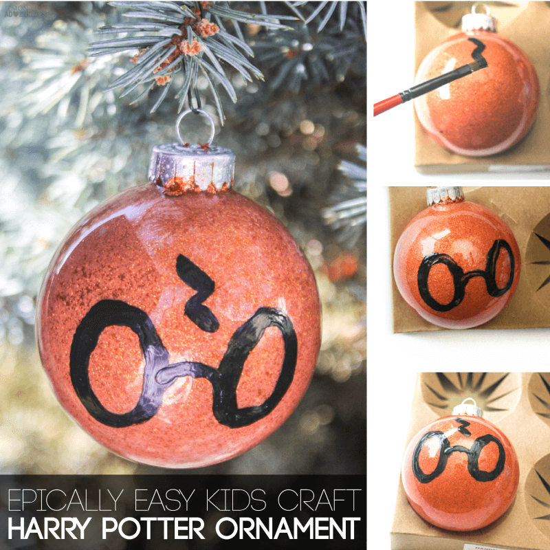 diy harry potter christmas ornament - Harry Potter Christmas Decorations