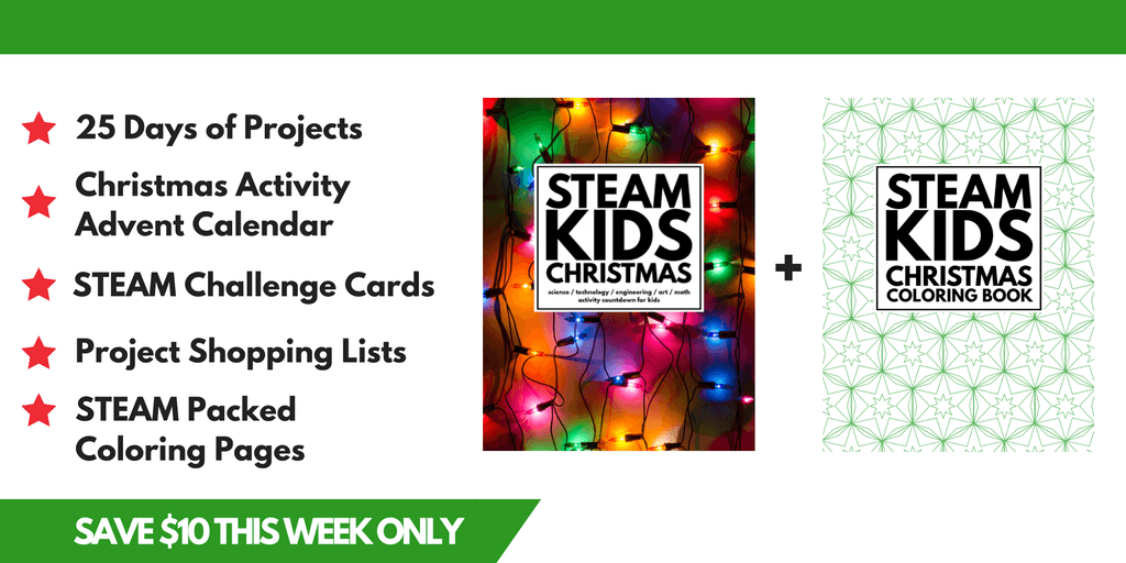 STEAM Kids Christmas Steam Projects