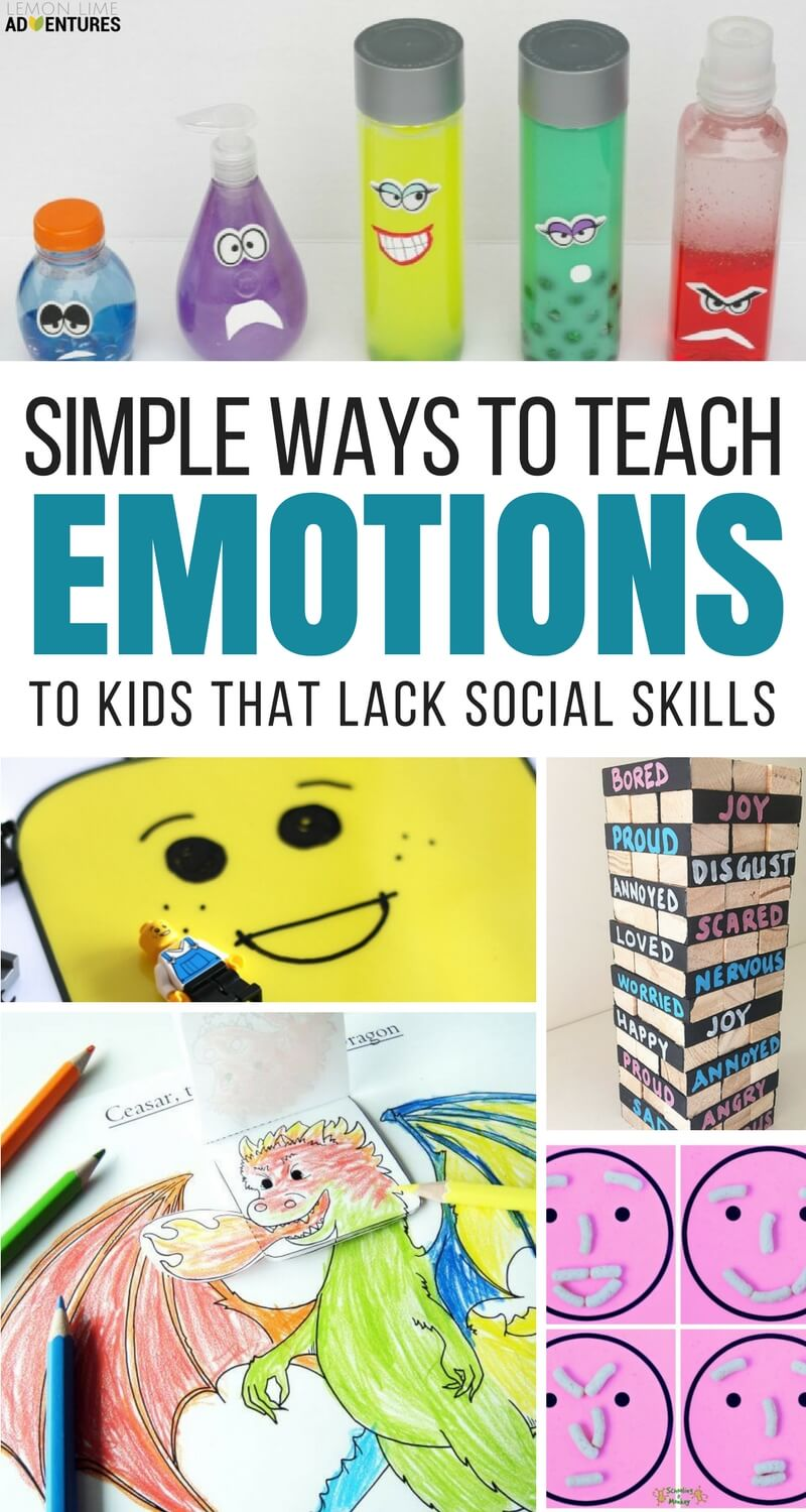 Super Fun Activities To Help Kids Recognize Big Emotions