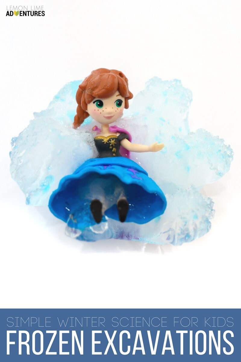 Simple Winter Science Experiments for Kids with Disney Frozen