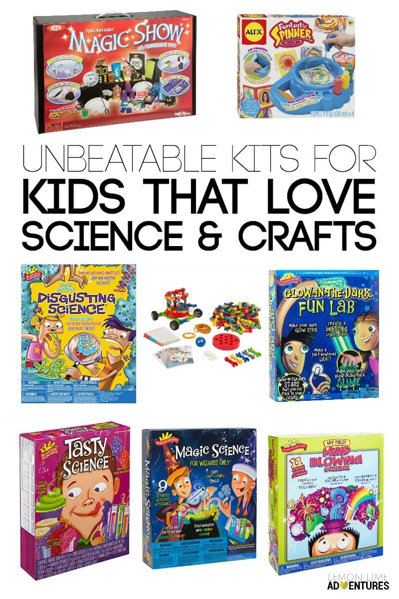 Unbeatable Kits for Kids that Love Science and Crafts