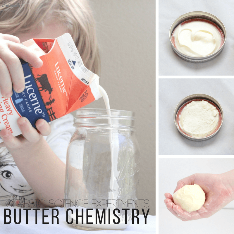 Classic STEM Experiments   This Butter Chemistry Experiment is perfect for any age!